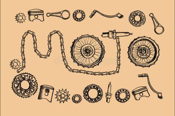 peças-do-moto-do-vintage-50750096